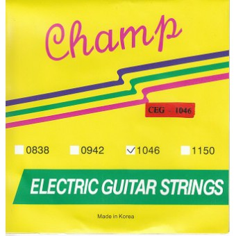 Струны для электрогитары Champ CEG-1046 Electric Nickel 10-46