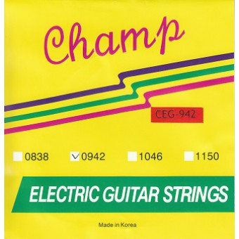 Струны для электрогитары Champ CEG-942 Electric Nickel 09-42