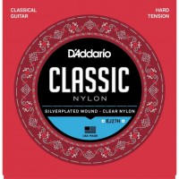 Струны нейлоновые D'Addario EJ27H Hard Tension Classic Clear Nylon