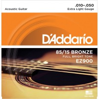 D'Addario EZ900 Bronze 85/15 Extra Light 10-50