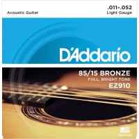 D'Addario EZ910 Bronze 85/15 Light 11-52