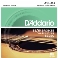 D'Addario EZ920 Bronze 85/15 Medium Light 12-54