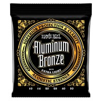 Ernie Ball 2570 Aluminium Bronze Extra Light 10-50