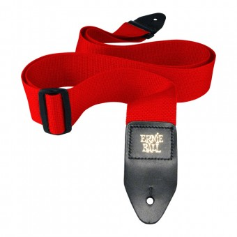 Ernie Ball Red Polypro Strap P04040