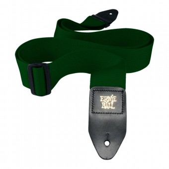 Ernie Ball Forest Green Polypro Strap P04050