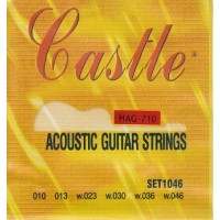 Castle HAG-710 Acoustic Bronze 10-46