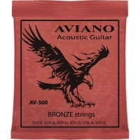 Aviano AV-500 Acoustic Guitar Bronze 10-50
