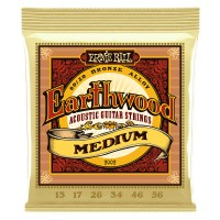 Ernie Ball 2002 Earthwood Medium 80/20 Bronze 13-56