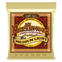 Ernie Ball 2003 Earthwood Medium Light 80/20 Bronze 12-54