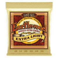 Ernie Ball 2006 Earthwood Extra Light 80/20 Bronze 10-50