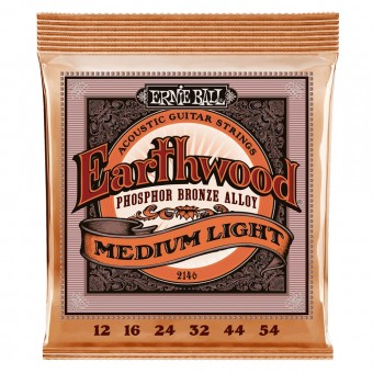 Ernie Ball 2146 Regular Slinky Premium Phosphor Bronze 12-54