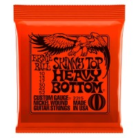 Струны для электрогитары Ernie Ball 2215 Skinny Top Heavy Bottom 10-52