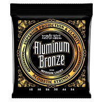 Ernie Ball 2566 Aluminium Bronze Medium Light 12-54