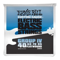 Струны для бас-гитары Ernie Ball 2808 Flatwound Bass Group IV 40-95