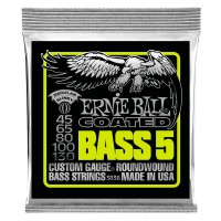 Струны для бас-гитары Ernie Ball 3836 Coated 5-String 45-130
