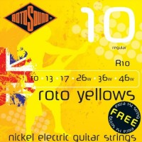 Rotosound R10 Roto Yellows 10-46